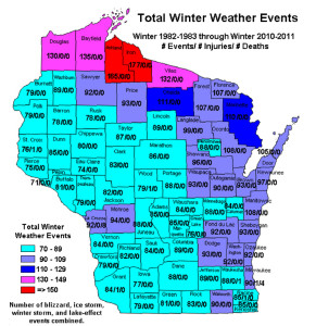 Total Winter Weather Events