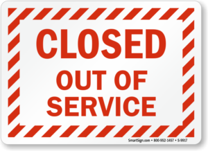 out-of-service-closed-sign-s-9917