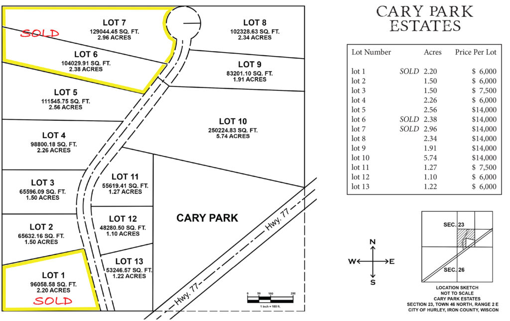 CARY PARK ESTATES rev